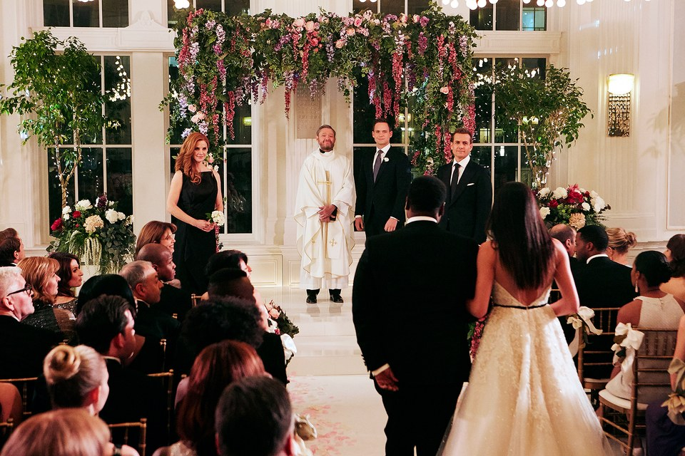 suits wedding finale