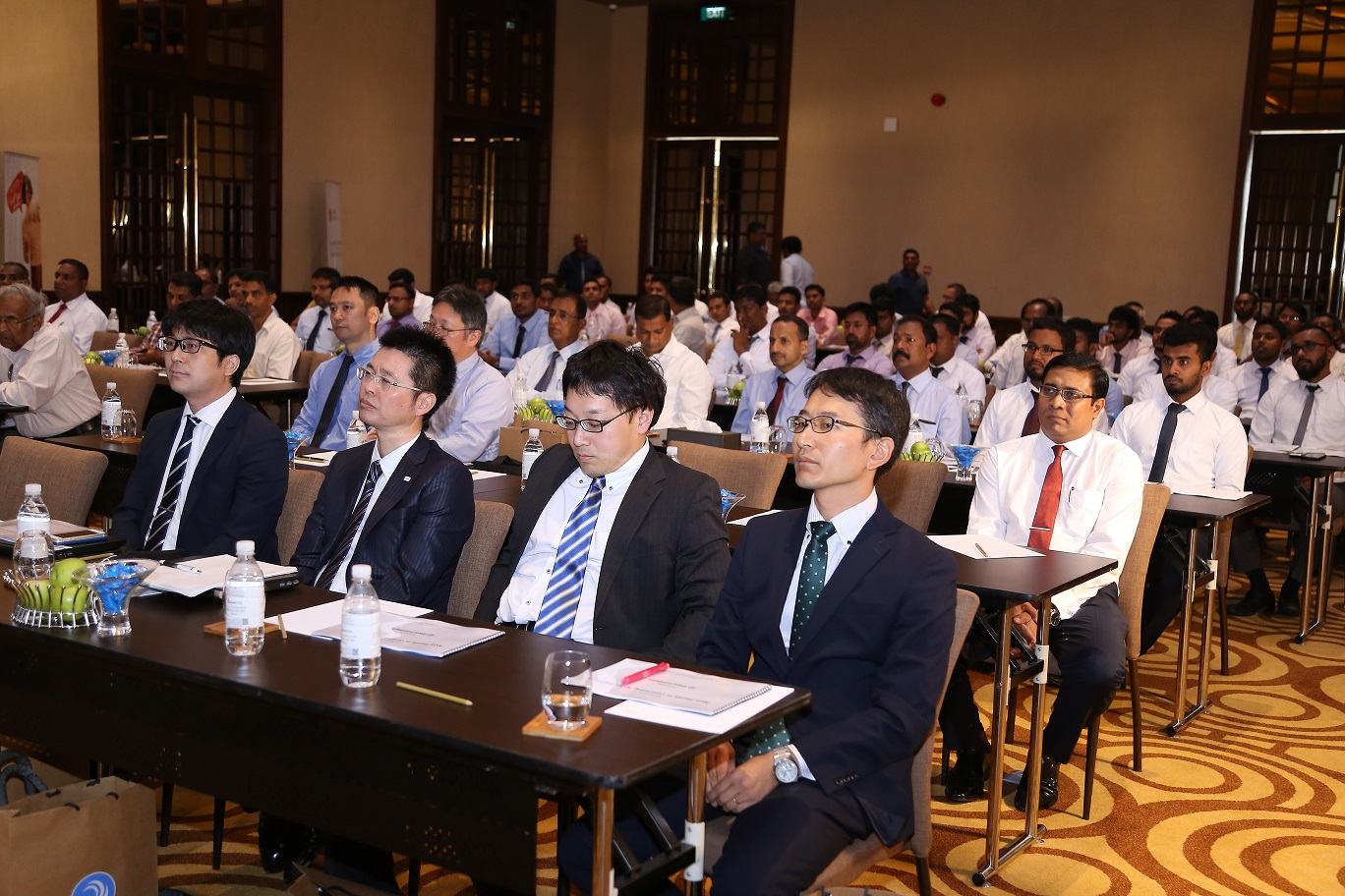 1 Japanese experts from UBE INDUSTRIES LTD who conducted the Seminar