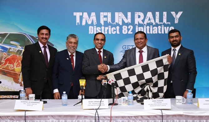 Toastmasters Fun Rally 'Get to the Point'  කොළඹදී