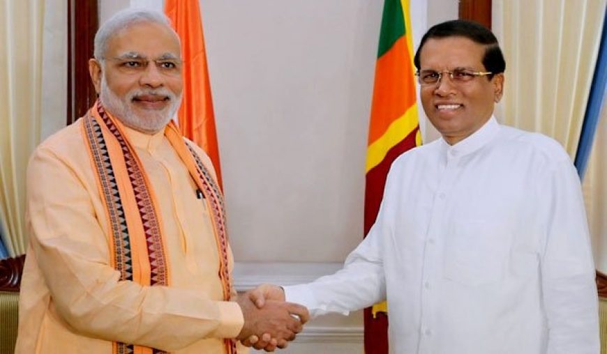 Modi tweets in Sinhala to welcome Maithri